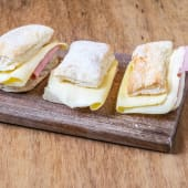 Fosforitos con jamón y queso (3 uds.)