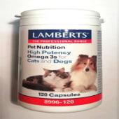 Omega 3 alta potencia (120 cápsulas),Lamberts Española, S.L.