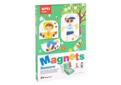 Jogo Magnetico Estacoes Apli 24pcs 17160