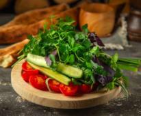 Овочева тарілка Баштан (300г)