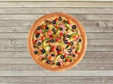 Pizza Double Végétarienne - Pâte Traditionnelle