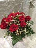 Ramo de 12 rosas rojas Libertad