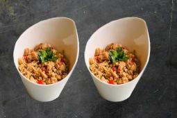 Рис із куркою (600г)