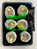 Sushi 1 uramaki de salmón aguacate