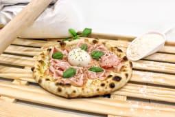 Pizza Mortadella e Burrata