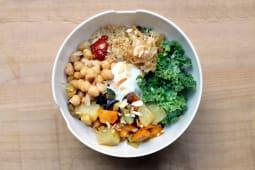 Bowl de cuscús (vegano y sin gluten)