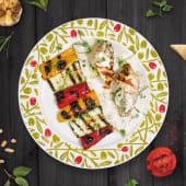 File de pui cu cascaval camembert si spanac