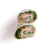 Wrap salmone e rucola