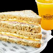 Promo Sandwichitos Lomito y Queso + Bebida