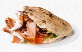 Juneći kebab u lepinji