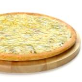 Pizza 3 quesos (mediana)