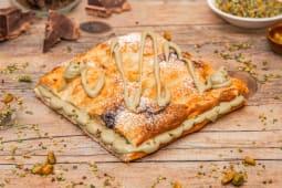 Focaccia alla crema di pistacchio