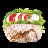 Сендвіч Капрезе вегетаріанський