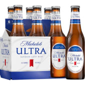 Cerveza Michelob Ultra Sixpack Botella 330 ML