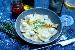Ravioli with ricotta and mozzarella 250gr