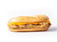 59 - Bife Salisbury, cebola caramelizada e molho cheddar