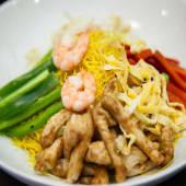 Fideos de arroz Singapur
