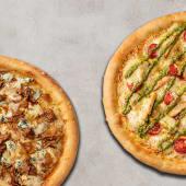Menu 2 Pizzas Médias Especialidades