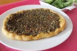 Pie Zaatar