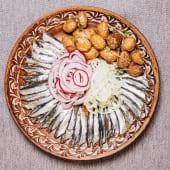 Хамса з теплою картоплею (340г)