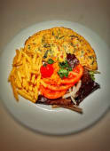Omelete Vegetariana