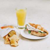 Menu Croissant Salgado