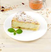 Сирний пиріг з яблуком (150г)