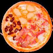 Піца Double начинка 4 м'яса (640г/30см)