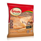 Pizza de masa integral y muzzarella (8 porciones)