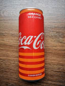 Coca Cola Orange ж\б (330мл)