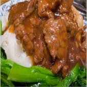 Rice Noodle with Beef+ Veges