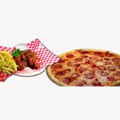 Pizza + boneless