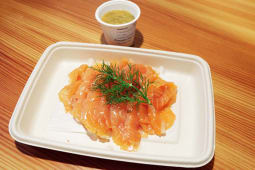 Salmone marinato all'aneto  150 gr