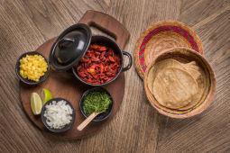 Tacos de pastor ( 5 uds)