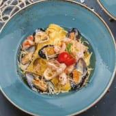 Домашня паста з морепродуктами (400г)
