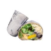 Burrito más gallo Santa Mónica (veggie)