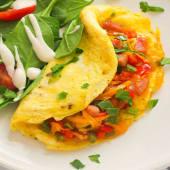 Western Omelette(ham,tomato,onion,green-pepper)
