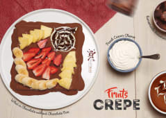 Fruits Crepe