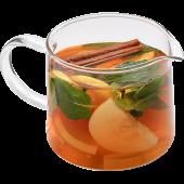 Чай грушевый с корицей