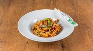Korean chicken wok