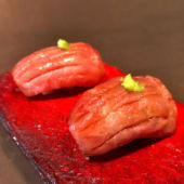 Niguiri de atún toro (2 pzas.)