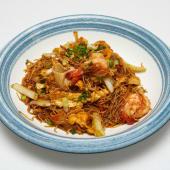 #26 Fideos de arroz con marisco al Wok