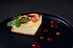 Чізкейк з карамельним соусом (120г)