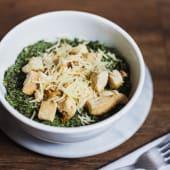 Pesto quinua bowl