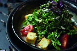 Салат з обсмаженим Адигейським сиром (200г)