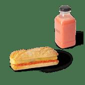Menú panino de totilla + zumo (500ml)