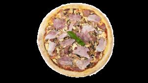 Pizza Prosciutto Arrosto Speciale e Funghi