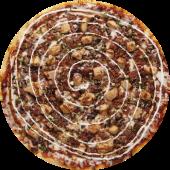 Pizza volcánica (mediana)