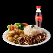 Lunch solución fajitas de carne