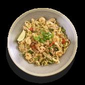 48. Pad Thai – Pollo e Gamberi